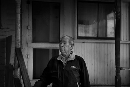 BYGONE Bill Hamamoto, whose family was sent to an internment camp in WWII, at the old family home in Carneros. - JESS KNUBIS