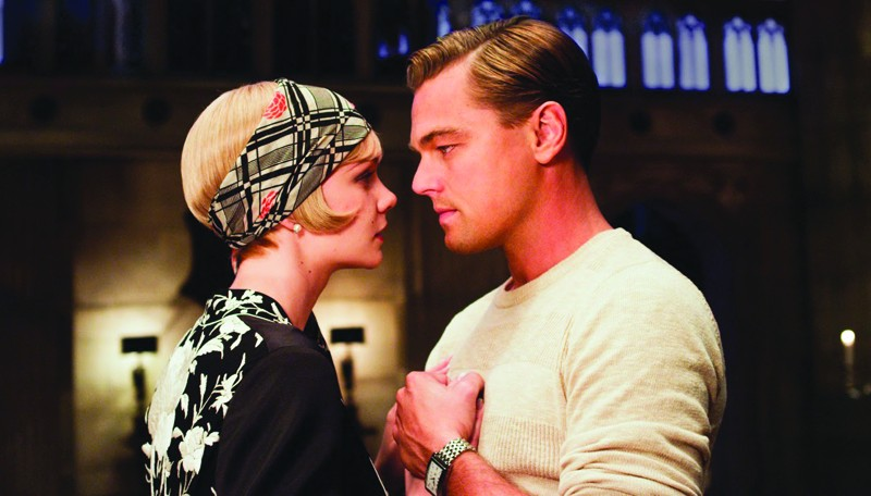 CEASELESSLY INTO THE PAST Ceaselessly into the past Leonardo DiCaprio, too old for the role, plays Jay Gatsby.
