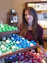 CELEBRITY SKIN Sumbody owner Deborah Burnes in her Sebastopol shop. - SUZANNE DALY