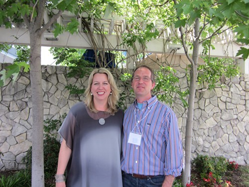 Cheryl Strayed and Albert Flynn DeSilver