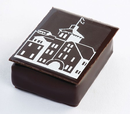 CHOCOLATE FACTORY St. Helena's Culinary Institure of America offers tastes of its chocolate creations to the public.