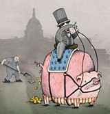 CLEANING UP: Breaks, cuts and loopholes have tipped the scales so far that many top corporations pay no taxes at all.