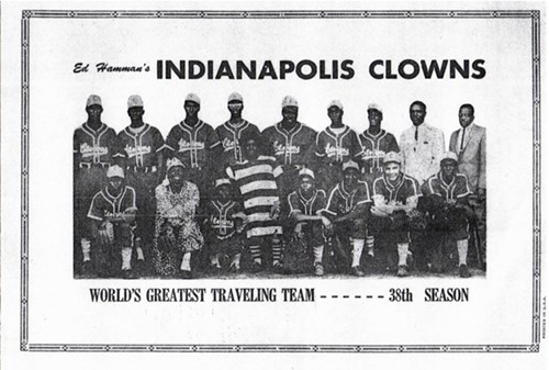 Clowns souvenir program from the 1960s