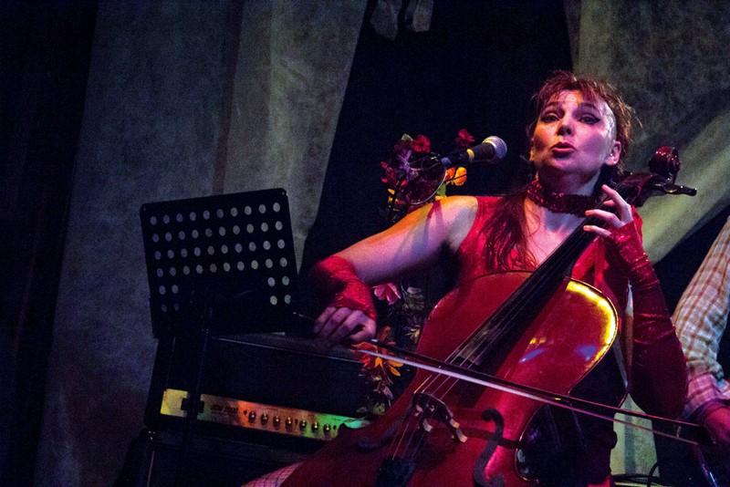 COME ON! Cellist Artemis, of the winning band made of complete strangers. - NADAV SOROKER