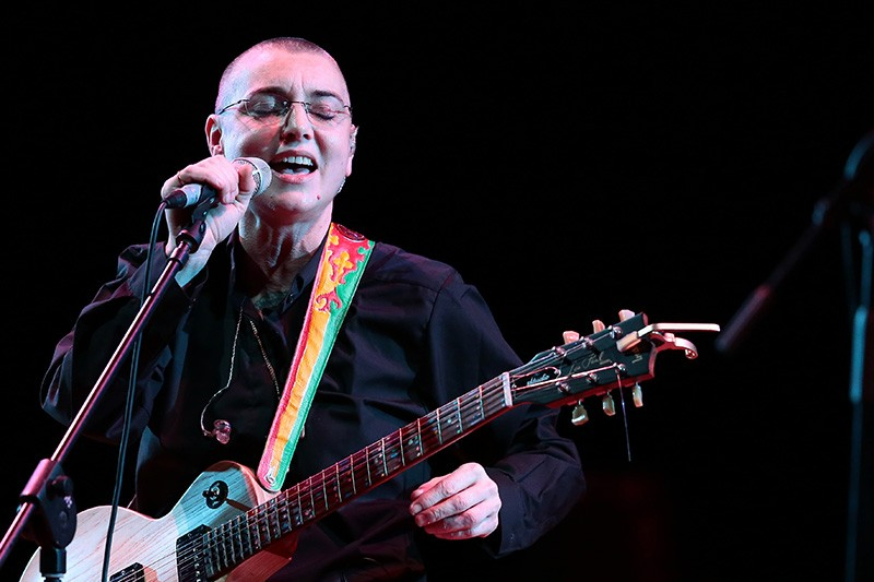 CRAZY BALD HEAD Sinead O'Connor still causes a stir. She plays Napa's City Winery, Nov. 20-21.