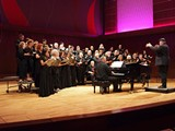 CRC singing in Puerto Rico last year at the Conservatory of Music.
