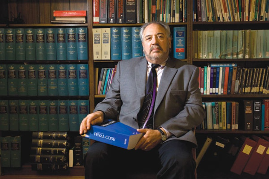 CROSS-EXAMINE Santa Rosa criminal defense attorney Steve Fabian supports Proposition 36 as a 'minor fine-tuning' of the law. - MICHAEL AMSLER