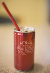 "CUTE! With its own straw, the Sofia-in-a-can says, ""I'd love a hike-and-picnic date."" - ELIZABETH SEWARD"