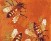 Detail of '5 Bees' by D. A. Bishop