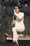 Detroit soul singer Mayer Hawthorne croons a grooving crowd at BottleRock.