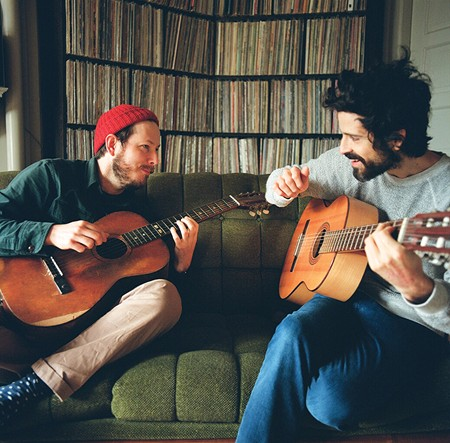 DYNAMIC DUO Andy Cabic and Devendra Banhart met at a San Francisco bookstore.