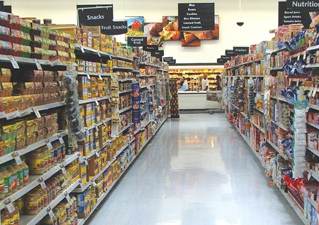 EMPTY AISLES In Sonoma County, ony 42 percent of those eligible are enrolled in CalFresh.