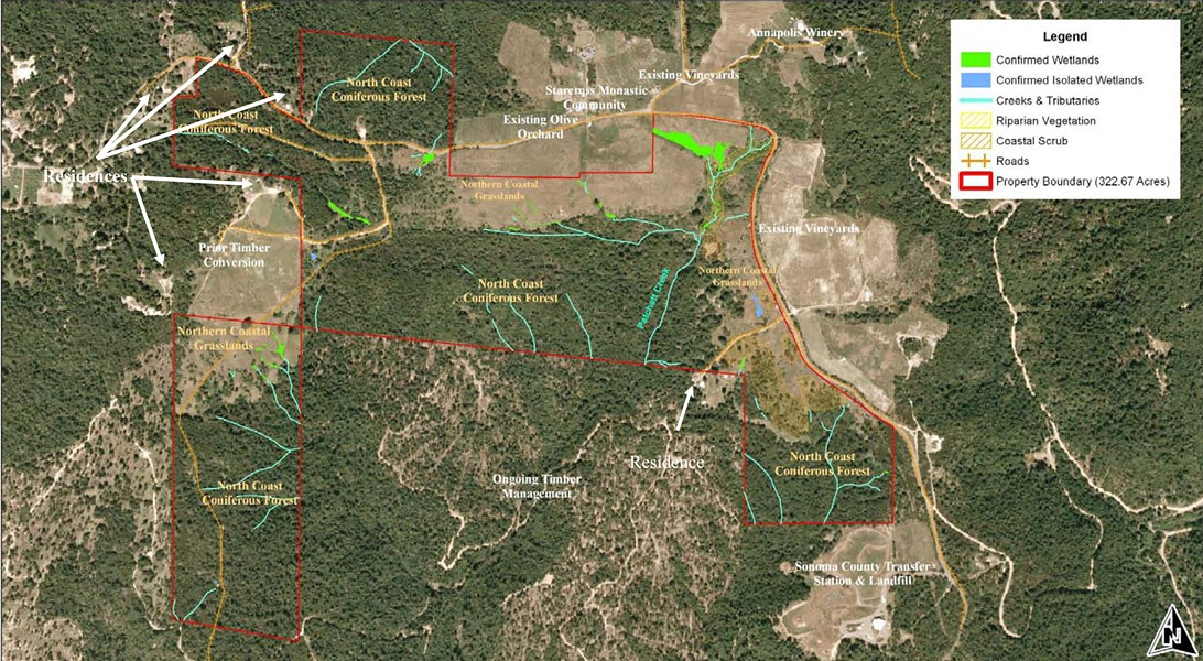 ENVIRONMENTAL IMPACT Click on the map for a larger view of the affected property.