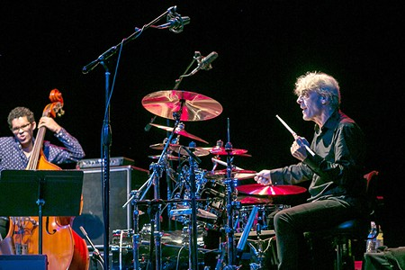EX-POLICE Stewart Copeland bridges classical and rock in his collaboration with Jon Kimura Parker. - DANIEL CAVAZOS