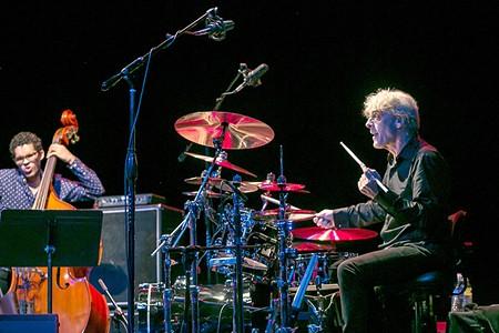 EX-POLICE Stewart Copeland bridges classical and rock in his collaboration with Jon Kimura Parker. - DANIEL CAVAZOS