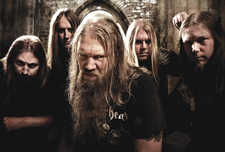 FEEL THE BURN the burn Amon Amarth are not Jazzercise friendly.