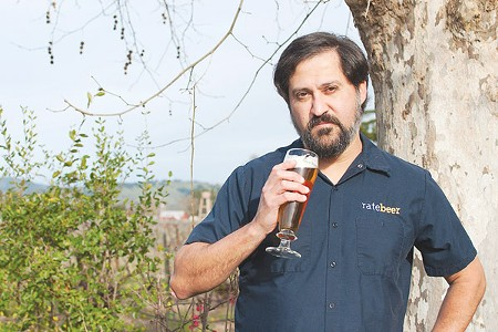FIELD WORK Joseph Tucker keeps a low profile in Fulton, but his site is among the highest-trafficked beer review sites online. - ANNELIESE SCHMIDT