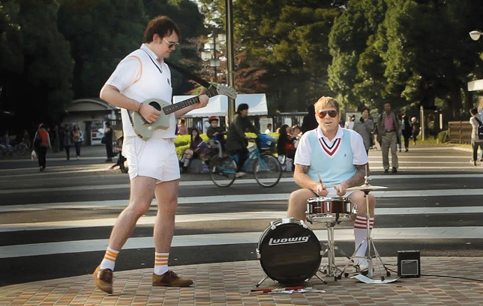 FILM FEST, ANYONE? 'Big in Japan' features Seattle band Tennis Pro onscreen and in a live performance at the fest.