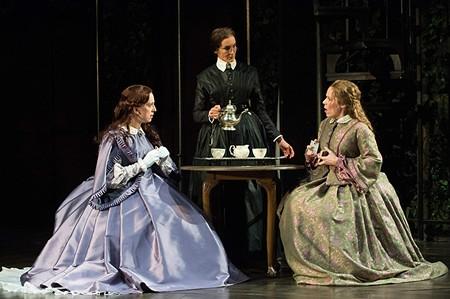FINGERED 'Fingersmith' features (left to right) Erica Sullivan, Terri McMahon and Sara Bruner.