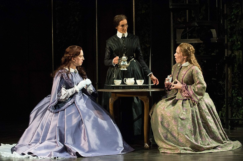 FINGERED 'Fingersmith' features (left to right) Erica Sullivan, Terri McMahon and Sara Bruner.
