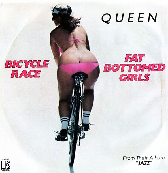 FIX A FLAT Queen's 'Bicycle Race,' released 34 years ago, needs replacing.
