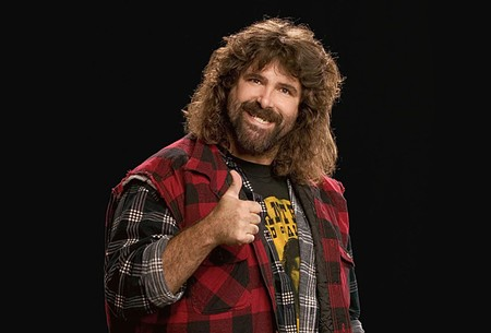 FOR THE GOOD OF MANKIND Wrestler-turned-comedian Mick Foley no longer has to go to the ER after a night's work.