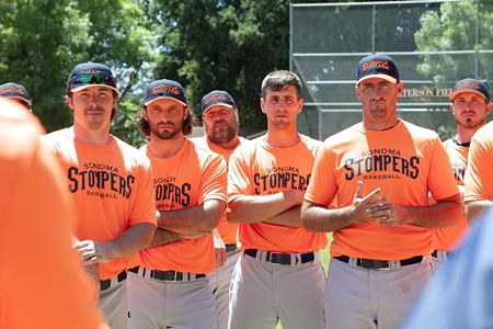 GAME FACES The Sonoma Stompers gear up for the 2014 season - MICHAEL AMSLER