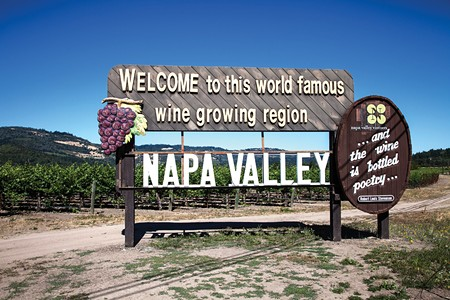 GAS, FOOD AND LODGING Tourists are welcome to Napa Valley. Airbnb not so much.