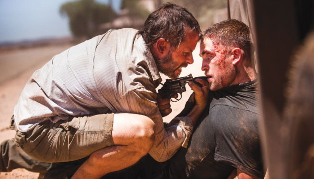 G'DAY MATE Guy Pearce gets tough in Australian film 'The Rover.'
