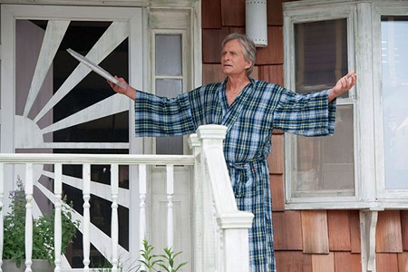 GET OFF MY LAWN Michael Douglas plays Oren Smith, a rich jerk in Rob Reiner's herky-jerky 'And So It Goes.'