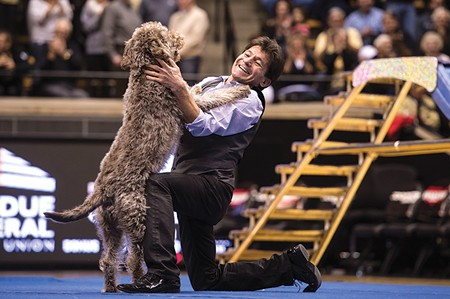 GOOD DOG Richard Olate went from the streets of Santiago to the world stage with more than a little help from his dogs.