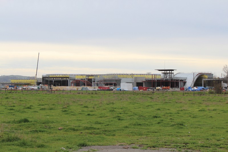 GREEN STUFF Speculative development plans are driving up land prices around the casino to ten times that of four years ago.