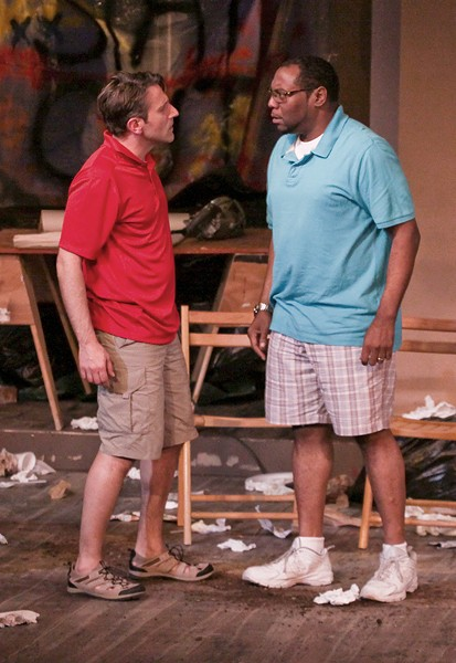 GUESS WHO'S NOT COMING TO DINNER? Prejudice is laid bare in Bruce Norris' drama. - ERIC CHAZANKIN