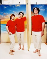 HANG TEN Yo La Tengo's Q&A shows turn awkwardness into art.