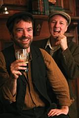 HAVIN' A LAUGH Frank McCourt's new musical is funnier than you'd think. - ERIC CHAZANKIN