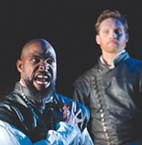 DAVID ALLEN - HEAVEN MOCKS ITSELF Aldo Billingslea and Craig Marker in a stunning 'Othello.'