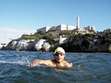 HOPE INDEED: Lakota youth swim to shore in 'From the Badlands to Alcatraz,' part of the Geography of Hope's film program.