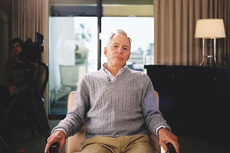 HOT SEAT Robert Durst, see here on the set of 'The Jinx,' is a 'person of interest' in the case of a missing 16-year-old girl in Eureka. - PHOTO COURTESY HBO