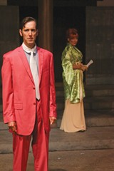 IN A PICKLE Nick Sholley plays the caught-in-a-trap politician Sir Robert. - ERIC CHAZANKIN