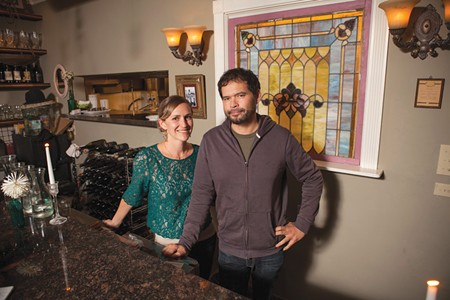 IN THE MIX Amber Driscoll and Roger Tschann have discovered a secret-weapon chef from Guam.