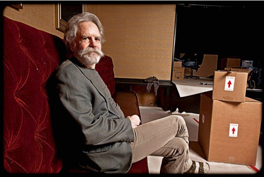 IN THE PLAYPEN Bob Weir oversees progress at the long-awaited 'rebirthed' Sweetwater, which opens this week. - JAY BLAKESBERG