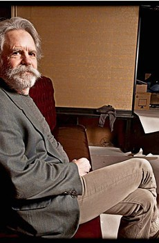 IN THE PLAYPEN Bob Weir oversees progress at the long-awaited 'rebirthed' Sweetwater, which opens this week.