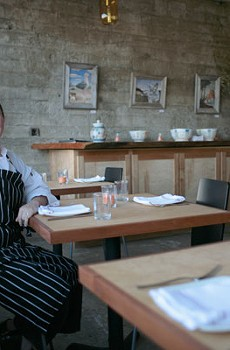 IN THE POCKET Chef Liza Hinman, formerly of Santi, crafts an accessible yet rewarding menu in this chic new spot.