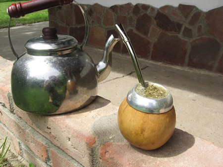 IN THE TRADITION In Argentina, mate is steeped and shared, with each participant drinking from the same 'bombilla.' - JAY SCHERF