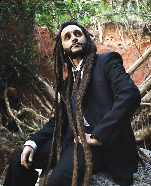 ITALIAN-GROWN Alborosie's the first to admit he's a new-school artist.