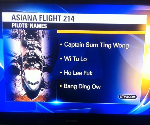 KTVU announces pilots names
