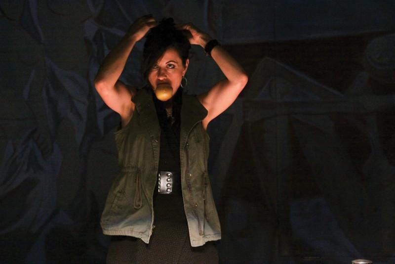 LADY EVE Jennifer Coté as the transformative temptress Evelyn. - ERIC CHAZANKIN