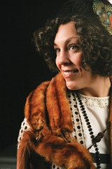 LAUGHING LADY Taylor Bartolucci channels the spirit of Fanny Brice at 6th Street Playhouse.
