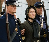 LED AWAY: Robin Wright plays Mary Surratt in Robert Redford's new film.