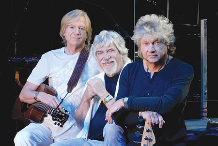 LONG DISTANCE VOYAGERS Justin Hayward, left, never expected 'Nights in White Satin' to be a hit. - MARK OWENS